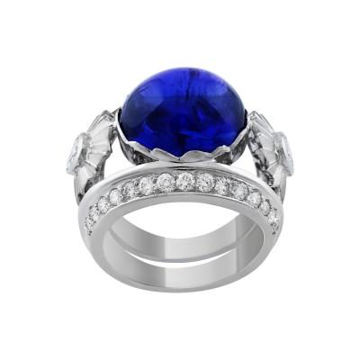 Bespoke Jewellery Singapore Exotic Gems & Jewellery Pte Ltd Tananite Diamond Ring