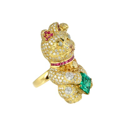 Exotic Gems & Jewellery Pte Ltd Emerald Diamonds Ruby Cat's Eye